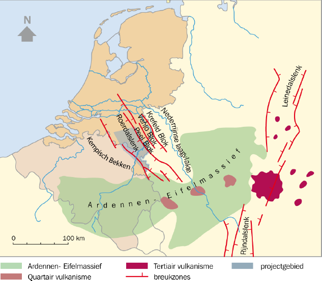 Location of the Roerdalslenk. SOURCE: https://geoera.eu/blog/timing-is-everything/